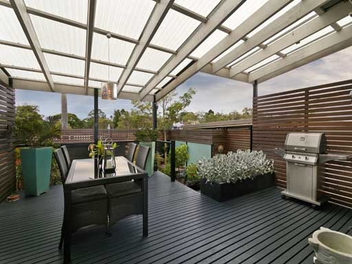 Garden Area Composite Decking