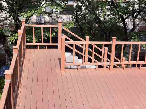 Composite Wood Decking Outdoors